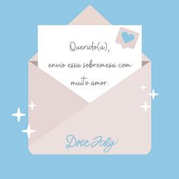 Envie Uma Carta Junto com Seu Pedido !