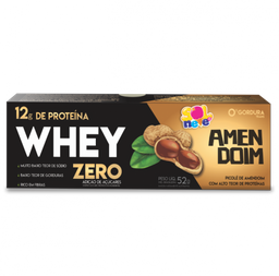 Picolé Whey Zero Amendoim