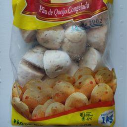 Pão de Queijo Temperado com Calabresa (pacote de 1 Kg)