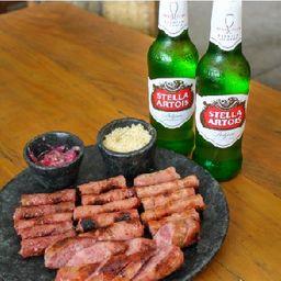 Mix Especial de Chorizo + 2 Cervejas