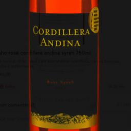 Vinho Rosé Cordillera Andina Syrah 750ml