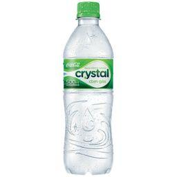 água mineral com gás crystal 500ml