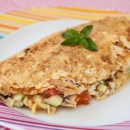 Omelete com Frango