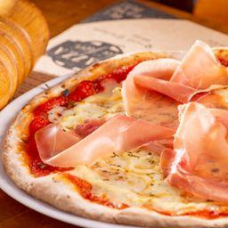 Pizza meio a meio salgada - media 30 cm