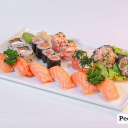 2c - Combinado Sushi - 18 Peças