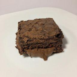 Brownie Recheado de Nutella