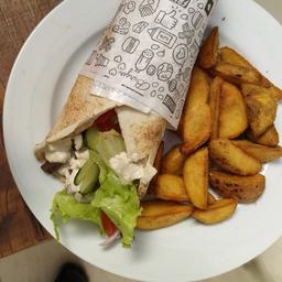 Original Kebab E Fritas Com Zaatar