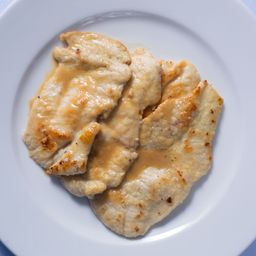 Scallopine Di Pollo Al Limone