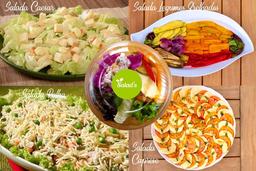 Monte seu Bowl - 4 Saladas