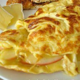 Omelete Recheada de Mussarela