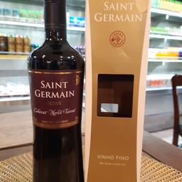 Vinho tinto suave Saint Germain