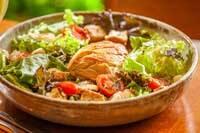 Caesar Salad Filé de Frango Defumado