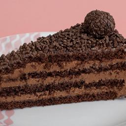 Brigadeiro - fatia | torta dalena