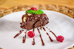 Torta de Chocolate Low Carb - Fatia