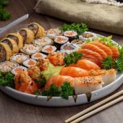 Sushi por 1$ - 35 Peças