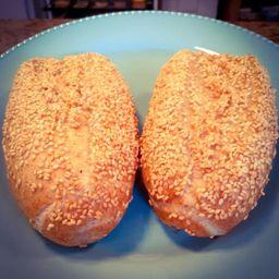 Pão Francese Integrale de Gergelim