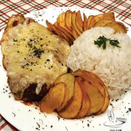 Filet Mignon Suíno Parmegiana