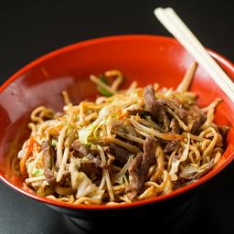 Lo mein (carne)