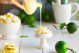 Sequilho de Limão c/ Choc. Branco - Pote