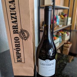 Vinho casa verrone chardonnay branco seco 750ml