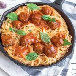 Espaguete com Polpetinne