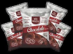 Chocolate com whey protein