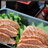 Sashimi de Salmão Toast - 10 Fatias