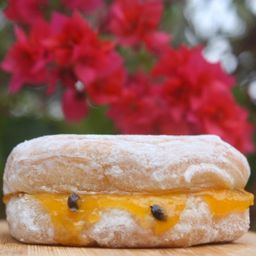 Mini Donuts Frutas Amarelas