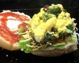 X Brócolis com Carne