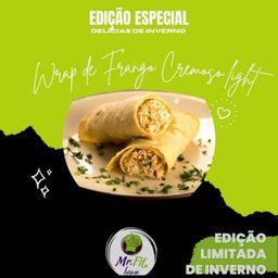 Wrap de Frango Cremoso Light