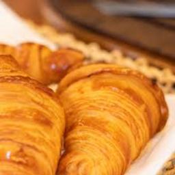 Croissant com Manteiga na Chapa