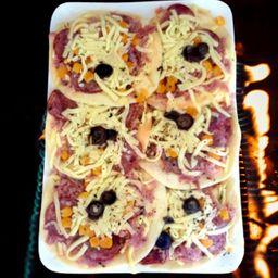 Mini Pizza Calabresa Congelada Wine And Joy