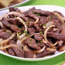 91 Carne Fatiada com Legumes