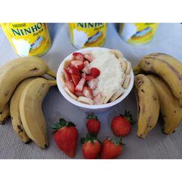 Açaí com Ninho, Morango e Banana