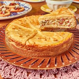 Torta de alho poró média 1 kg aprox.