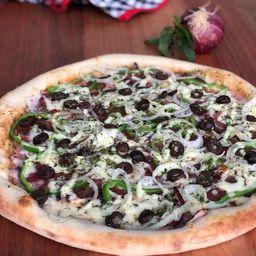 Pizza salgada - média (6 fatias)