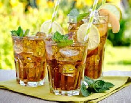 Chá Mate com Limão