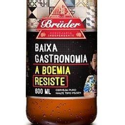 Cerveja Bruder Baixa Gastronomia - 600ml