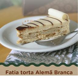 Torta Alemã Branca - Fatia