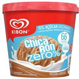 Sorvete Chicabon Zero Açúcar - 800ml