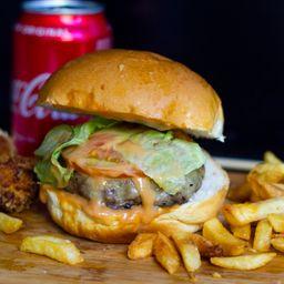Trio American Burger