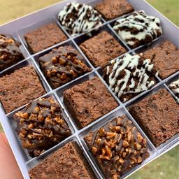 Presente - 16 Mini Brownies