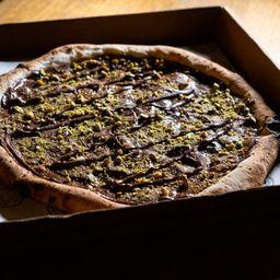 Pizza de Nutella e Pistache 25cm
