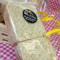 Pão integral sem casca 230g