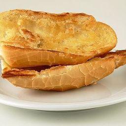 Pão Francês Integral com Manteiga Chapa
