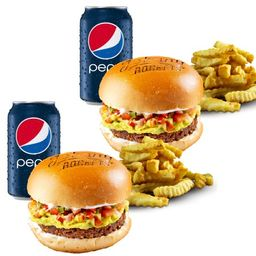 "Combo Avocado Vegan Burger ""Leva 2 Paga1"""
