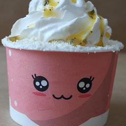 Snow Cream De Maracujá