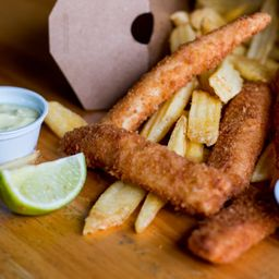 (Mais Pedidos) Pra 2! Krok Fish & Chips (Novidade!)