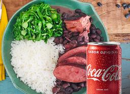 Feijoada + Coca-Cola