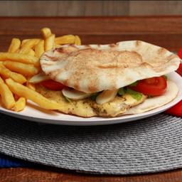 Beirute champignon chicken+refrigerante